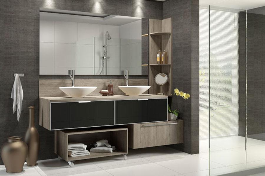 Banheiro  Móveis Modulados -> Gabinete De Banheiro Na Telha Norte