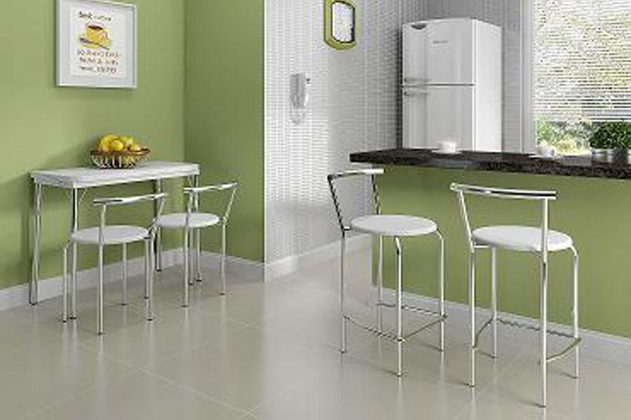 Mesa pequena para cozinha com banqueta - Mesas para ordenador pequenas ...