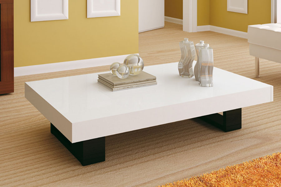 mesa de centro para sala espelhada madeira e vidro mesas