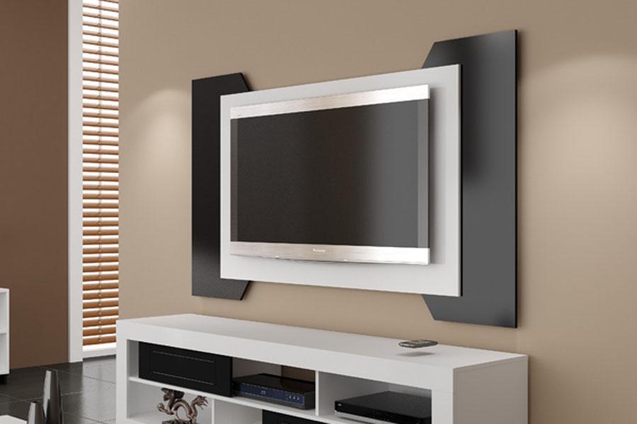 Sala Com Tv No Painel ~ Painel TV  Painel para TV  Móveis de Sal