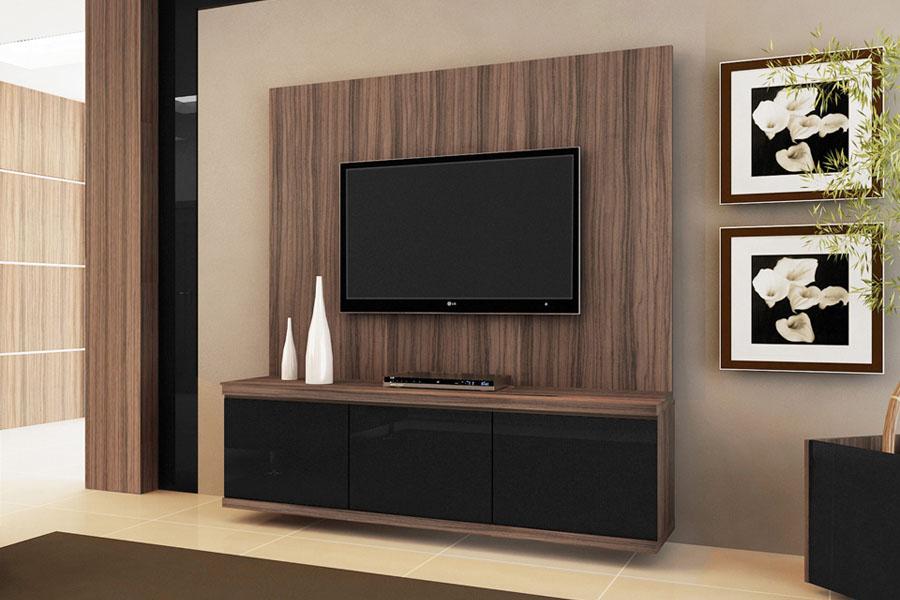 Rack Pra Sala De Tv ~ rack rack rack rack rack para tv vision terrano preto