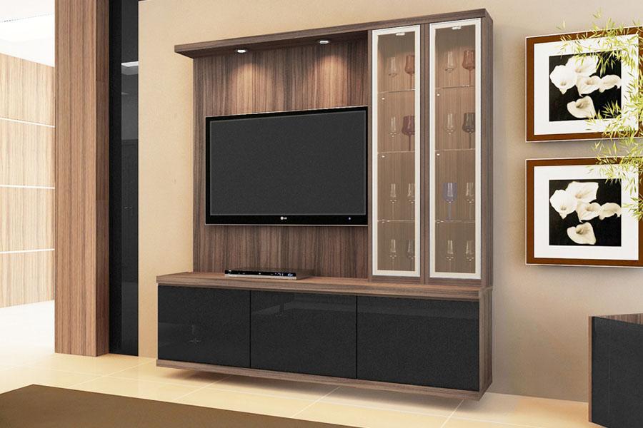 Sala De Tv Com Barzinho ~ Rack  Rack TV  Móveis de Sala
